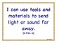 "1st First Grade Printable Next Generation Science Standards NGSS ""I Can"" Posters"