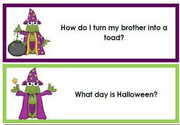 2013 Halloween ELA Bundle