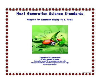 "Kindergarten K Next Generation Science Standards NGSS ""Able To..."""