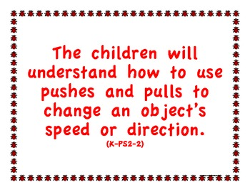 """Kindergarten K Next Generation Science Standards NGSS """"Understand"""" Posters"""