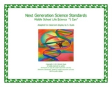 Middle School MS I CAN Next Generation LIFE Science Standa