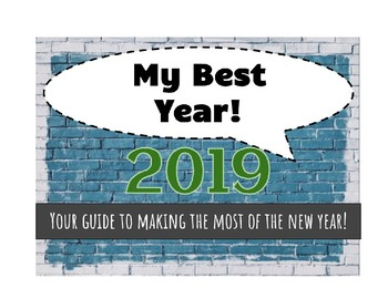 2017 My Best Year  - Character trait focus for the New Year (updated for 2017)