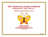 """NGSS Elementary K-5th """"Able to"""" Next Generation Science Standards Posters Combo"""