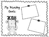 New Year's Reading Goals Graphic Organizer FREEBIE