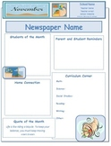 2013 November Classroom Newsletter Template