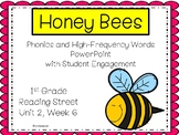 Honey Bees, PowerPoint with Student Engagement, 1st Grade