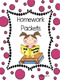 Reading Street, Unit 2, Homework Packets, 1st Grade/Distance Learning