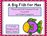 A Big Fish for Max, PowerPoint with Student Engagement