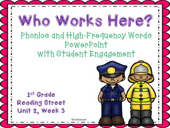 Reading Street, Who Works Here?, Interactive Powerpoint
