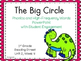 The Big Circle, PowerPoint with Student Engagement, 1st Grade