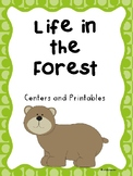 Reading Street, Life in the Forest Activities and Centers For All Ability Levels