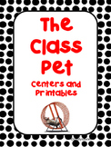 Reading Street, The Class Pet, Centers and Printables/Distance Learning