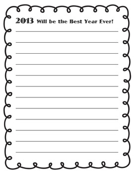 2013 Resolutions Paper