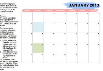 2013 Semester Pacing Guide Template File FREEBIE!