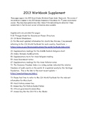 2013 Social Studies Workbook Supplement - supports 2013 GPS for 7th grade