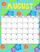 2013/2014 Seasonal Binder Folder Calendar Portrait 8.5 x 11