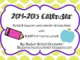 2014-15 Calendar