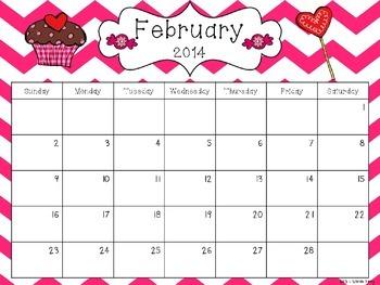2014-15 Editable Calendar - PowerPoint Version
