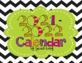 2019 -2021 Editable Calendar (30 months) - PowerPoint Version