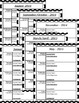 2016 - 17 Monthly Calendars/Weekly Planning Map Black/White Dot