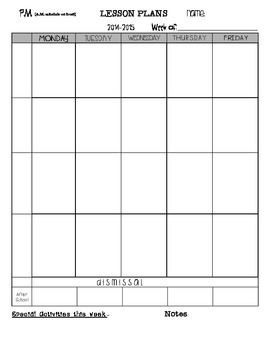 2014-2014 Lesson Plan Template