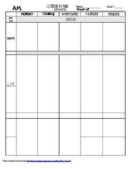 2014-2014 Lesson Plan Template