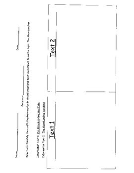 2014-2015 8th Grade New York State Alternative Assessment sheets