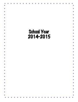 2014-2015 Academic Calendar