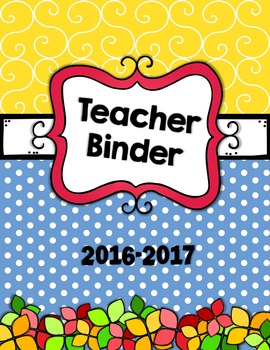 "2016-2017 Binder Covers - The ""Calli"" Edition (Covers Only)"