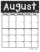 *Updated* 2017 - 2018 Chalkboard Calendars