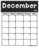 *Updated* 2016 - 2017 Chalkboard Calendars