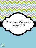 2014-2015 Editable Lesson Planner