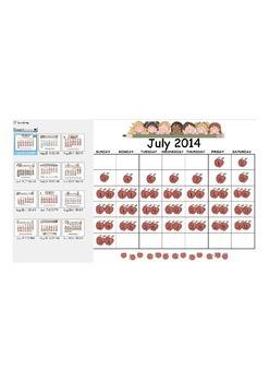 2014-2015 Elementary Calendar