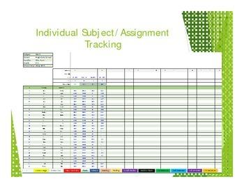 Excel Gradebook