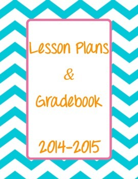 2014-2015 Lesson Plan and Gradebook Cover