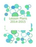 2014-2015 Lesson Planner - Grades 6-12