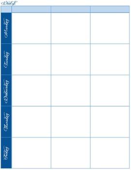 2014 - 2015 Nautical Lesson Planner