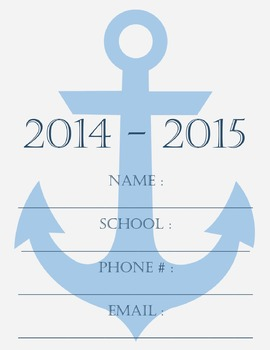 2014 - 2015 Nautical Lesson Planner