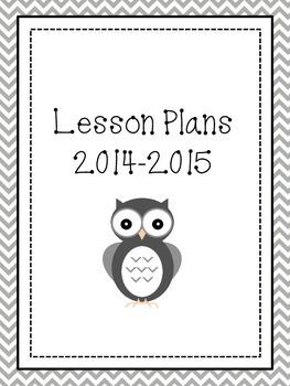 2014-2015 Plan Book