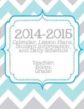 2014-2015 Planner