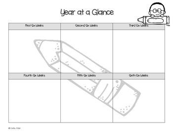 2014-2015 Planning Calendar