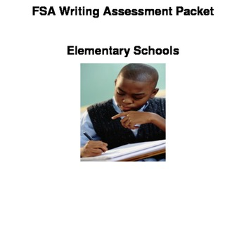 2014-2015 Pre-Test FSA Writing Assessment Packet (As Provided by MDCPS)