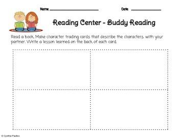 2014-2015 ReadyGen Unit 3 Module A Literacy Centers