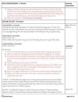 2014-2015 ReadyGen Unit 3 Module B Lesson Plans