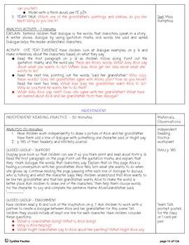 2014-2015 ReadyGen Unit 4 Module A Lesson Plans