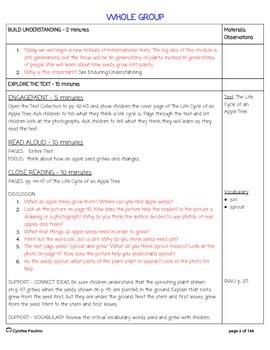 2014-2015 ReadyGen Unit 4 Module B Lesson Plans