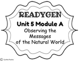 2014-2015 ReadyGen Unit 5 Module A Concept Board