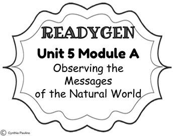 2014-2015 ReadyGen Unit 5 Module A Concept Board