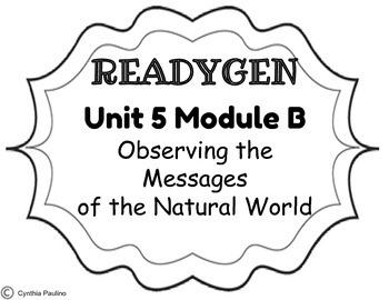 2014-2015 ReadyGen Unit 5 Module B Concept Board