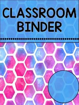 2017-2018 Teacher Binder
